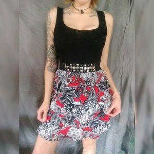Tiered skirt dress